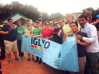 IGLYO at Baltic Pride March for Equality